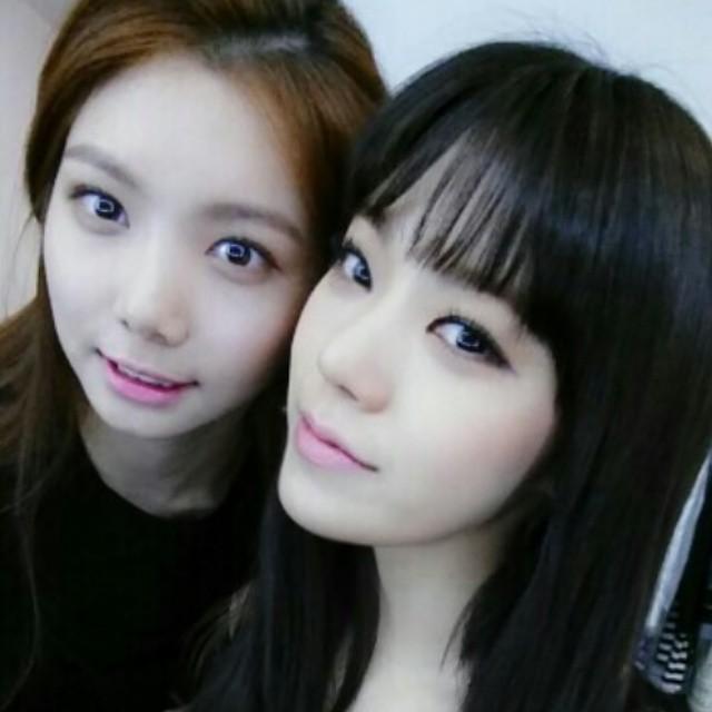 Kaeun's derp face is adorable.